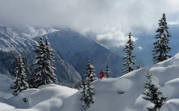 Chamonix Mont Blanc Ski Area