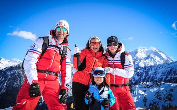 ESF Courchevel 1550 : ski