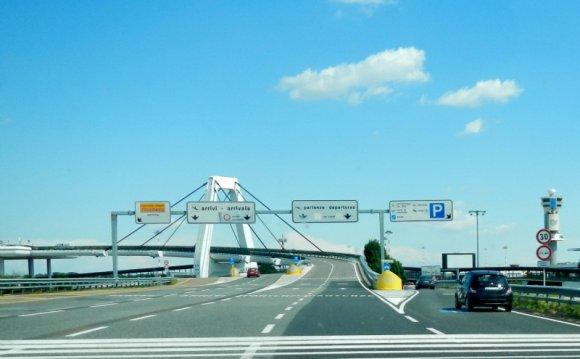 Driving to Chamonix from Milan