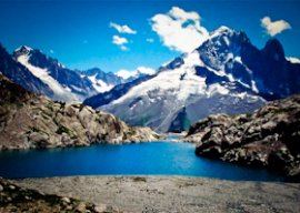 Chamonix hiking le lac blanc
