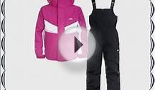 Trespass Kids Chamonix Ski Suit - Cassis 9-10 Years