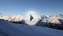 Winter Ski Resort In France Stock Video 37135092 | HD